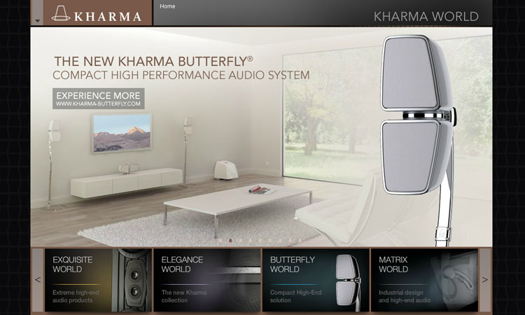 kharma_website